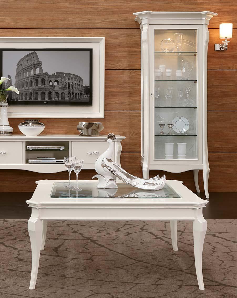 tavolino elegante di lusso in legno in stile contemporaneo