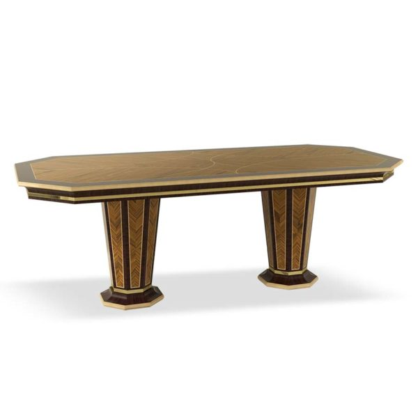 Table with 2 pedestals
