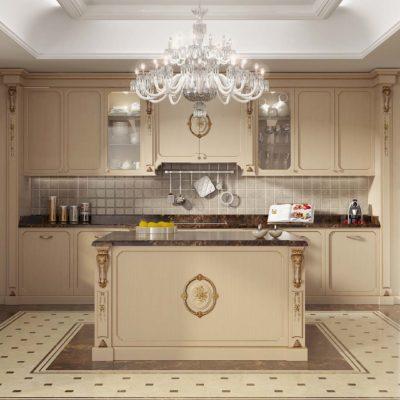 cucina di lusso