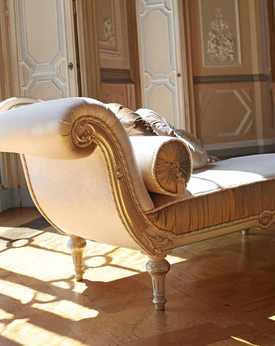 dormeuse chaise longue di lusso