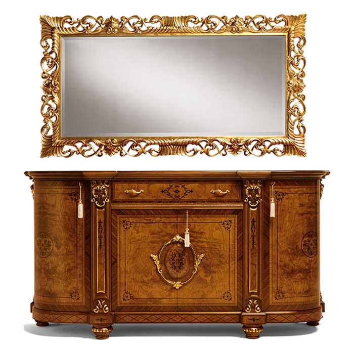 Fabbrica mobili classici e arredamento di lusso su misura for Fabbrica mobili