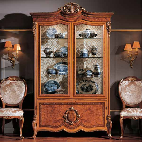 vetrine in legno