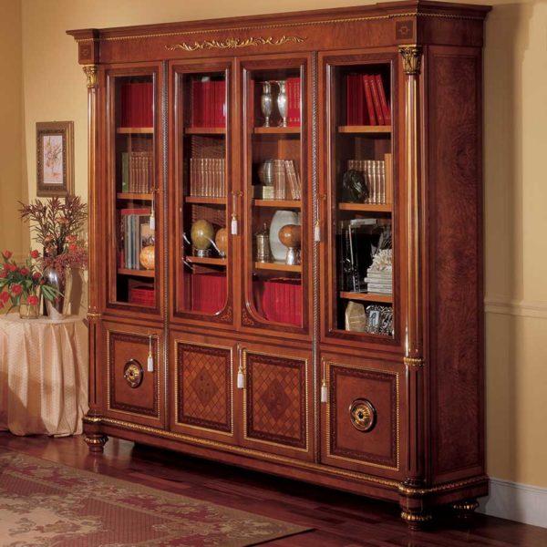 Libreria classica in legno