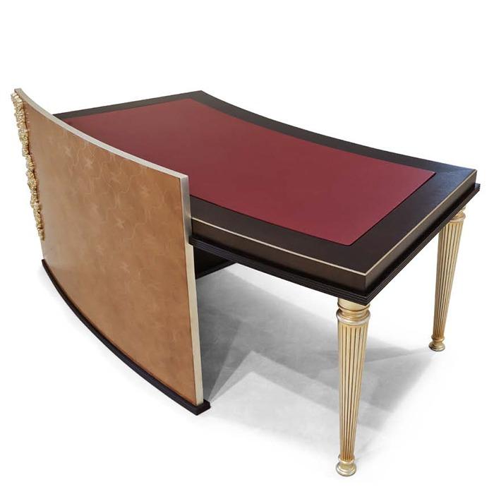 scrivania direzionale di lusso in legno