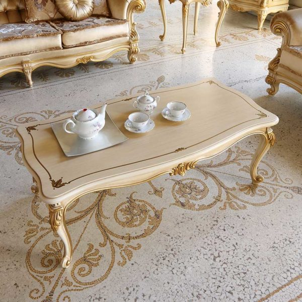 Baroque Empire Napoleon coffee table