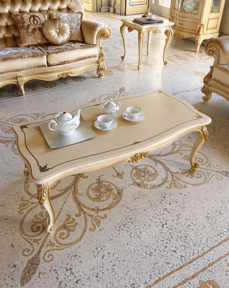 Baroque Empire Napoleon coffee table
