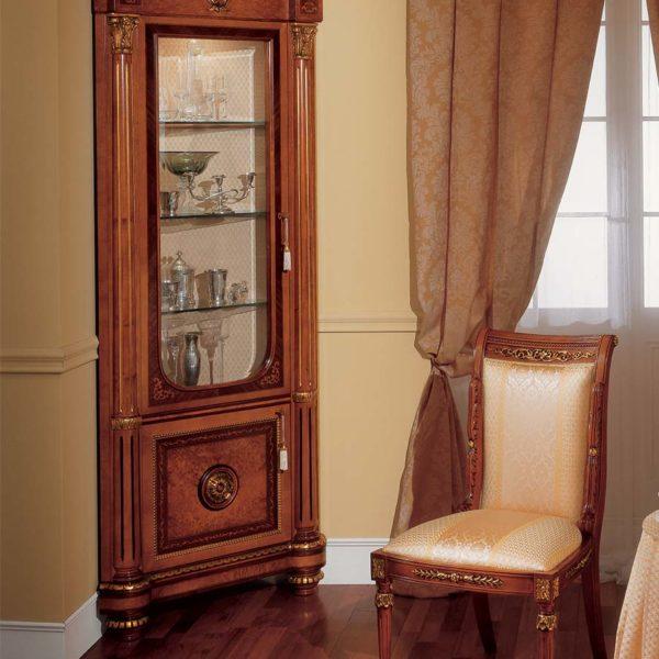 Corner cabinet Empire Napoleon Baroque