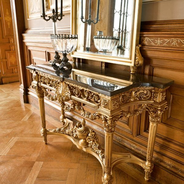 Console table Empire Napoleon Baroque