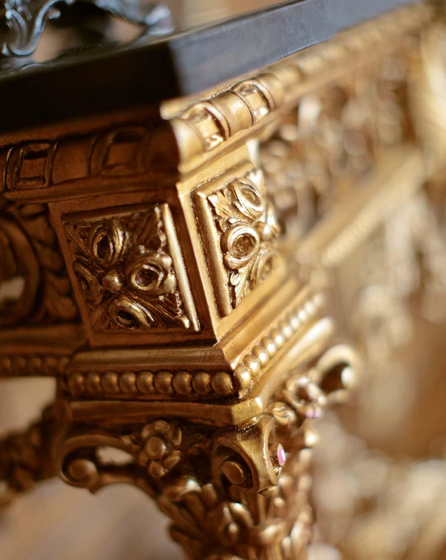 Console table Empire Napoleon Baroque