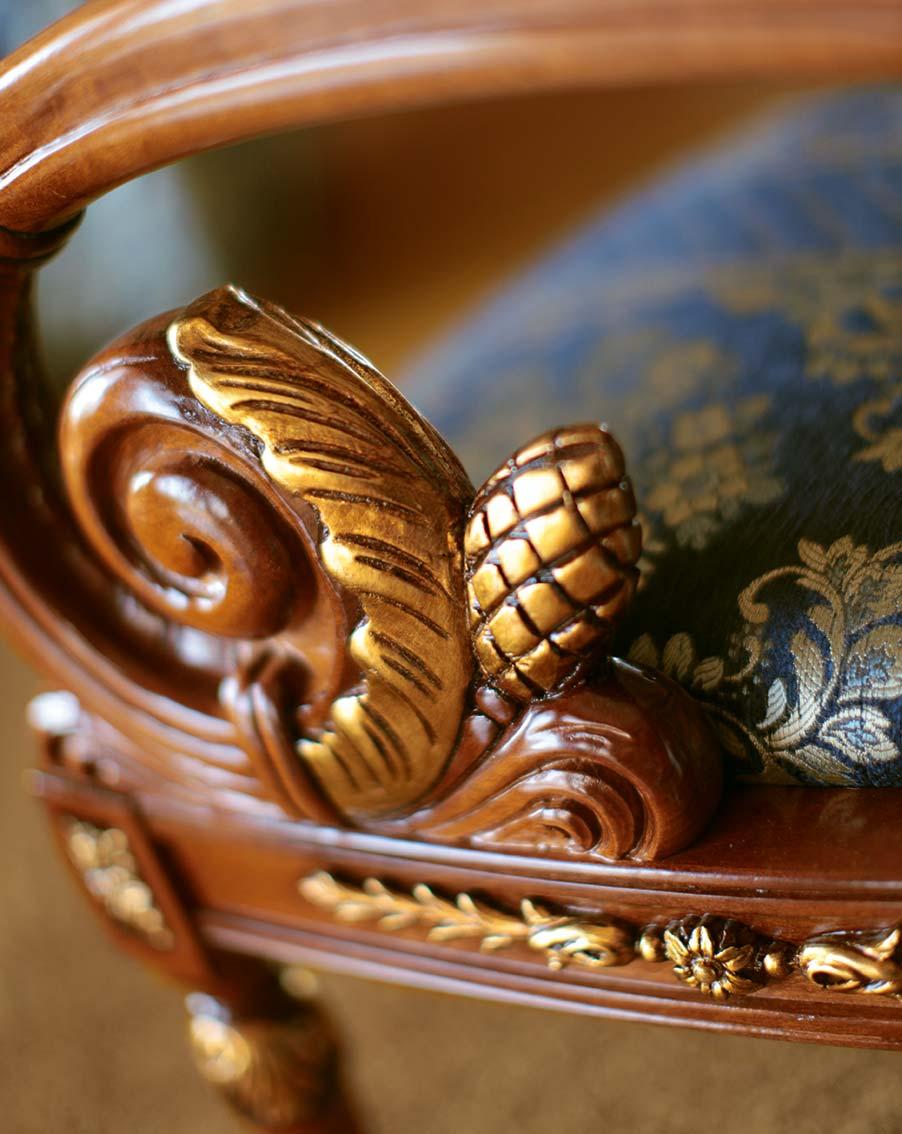 Poltrona stile impero napoleone