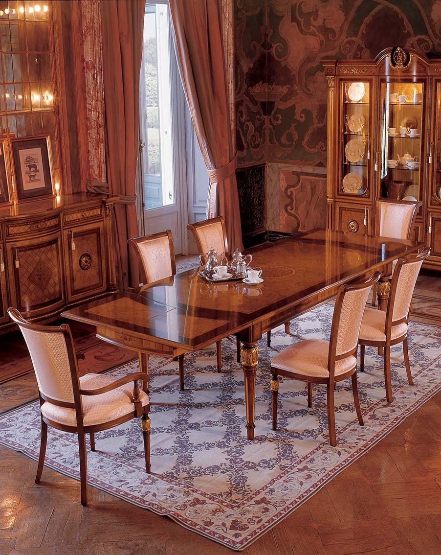 Обеденный стол Барокко наполеоновской империи