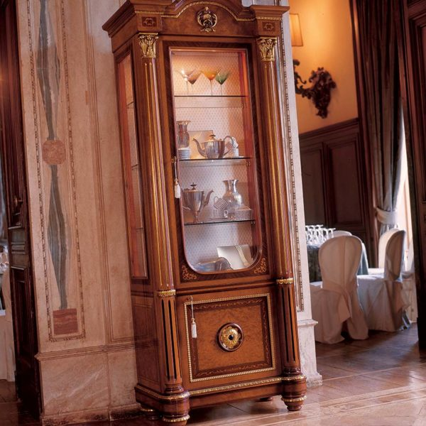 Display cabinet Empire Napoleon Baroque