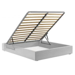 sommier contenitore · storage bed bases with wooden slats · реечное дно с системой хранения
