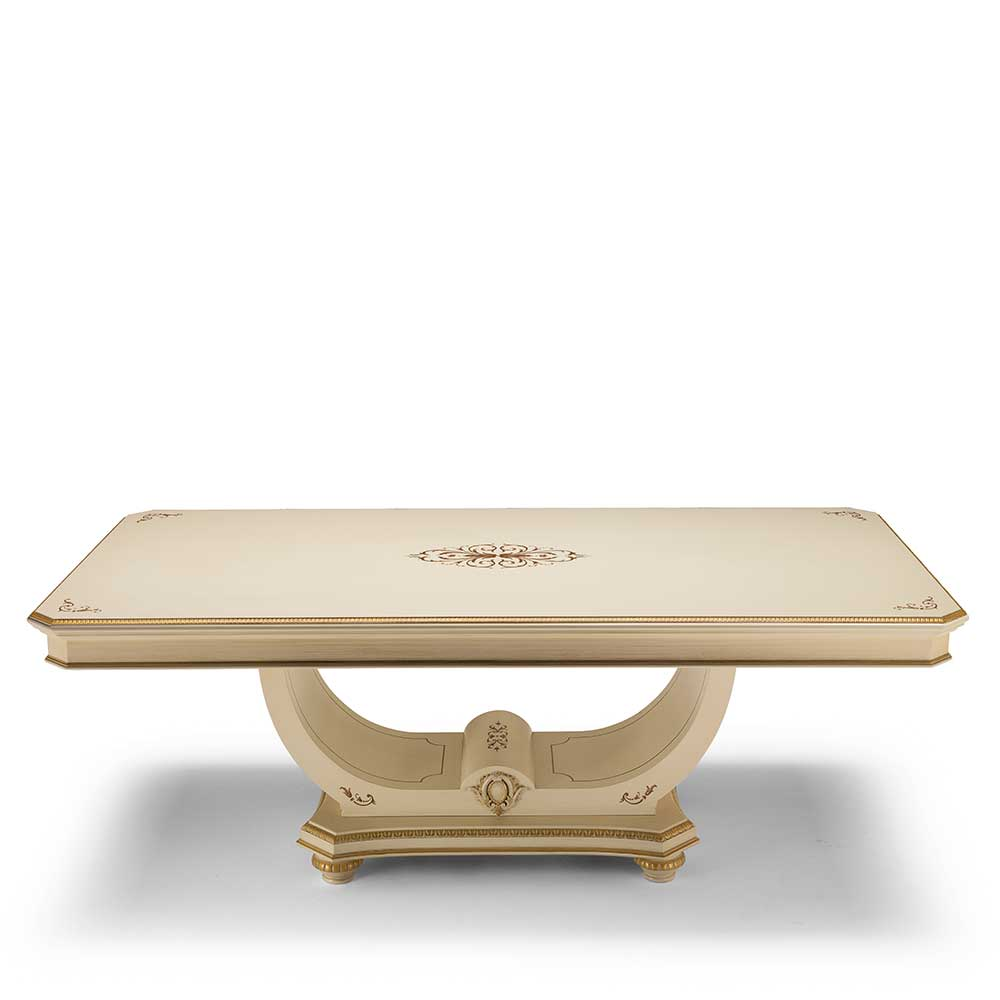 Dining table table - pedestal