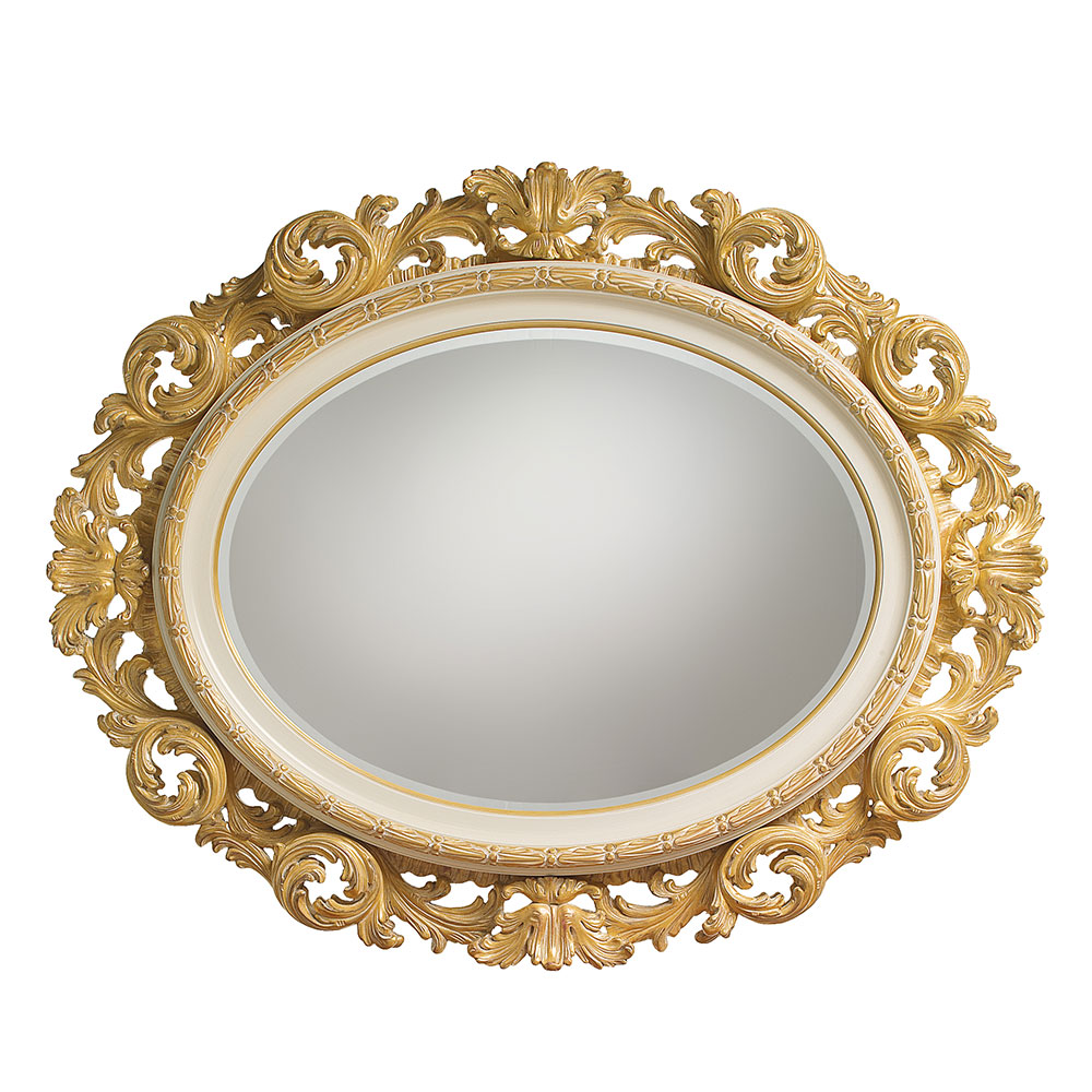 Oval mirror 2
