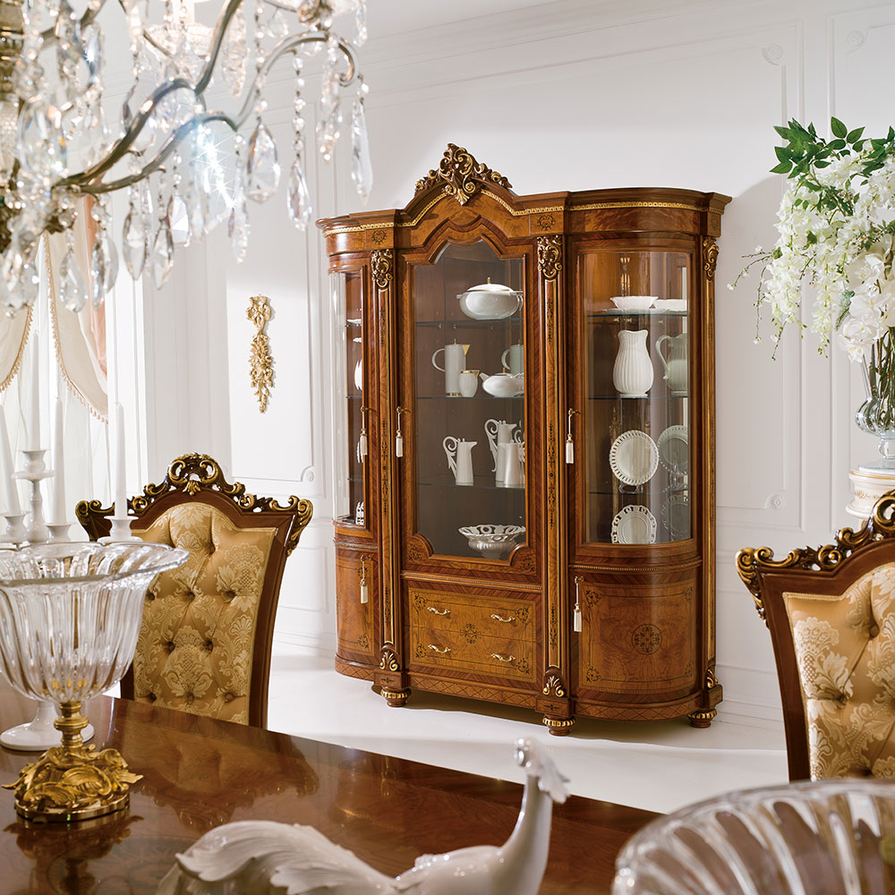 Display cabinet 3 doors 1