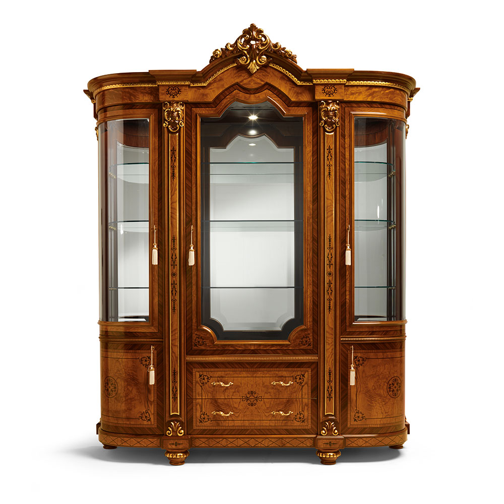 Display cabinet 3 doors 2