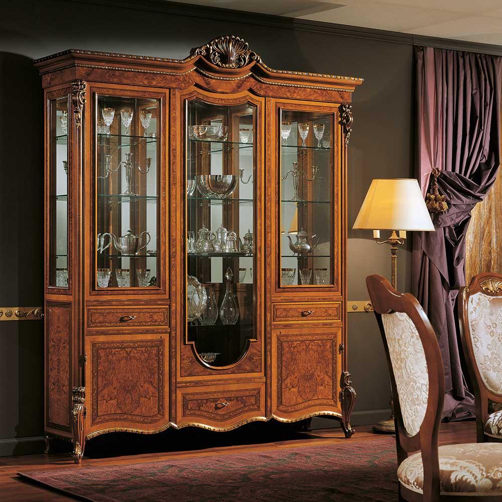 Display cabinet 3 doors 1