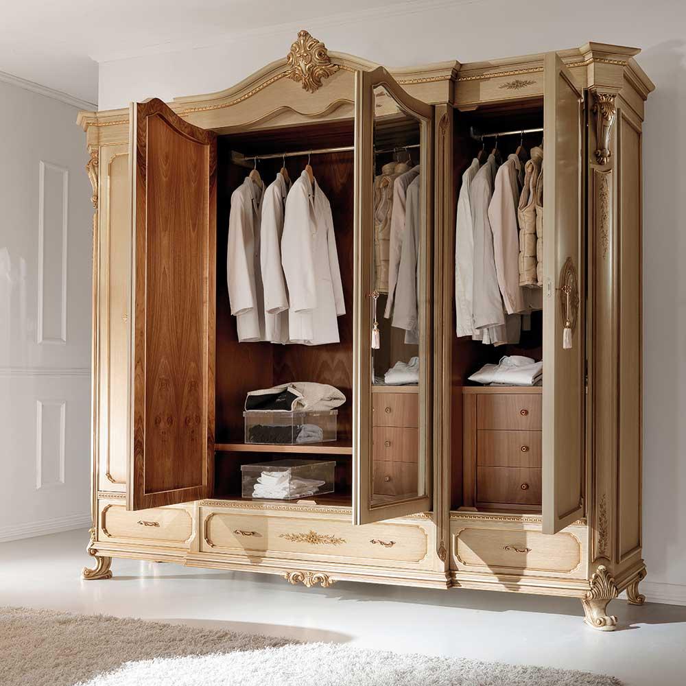 Wardrobe 4 doors 2