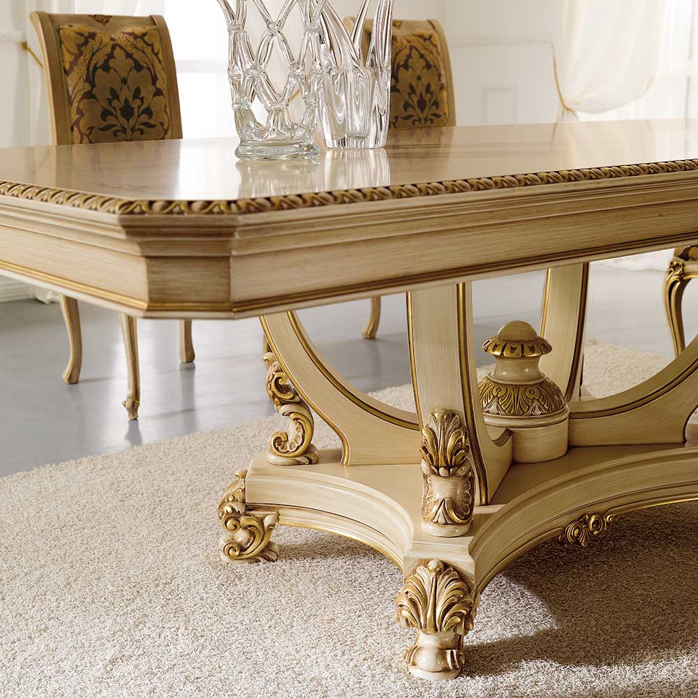 Обеденный стол вместе с пьедестал 3