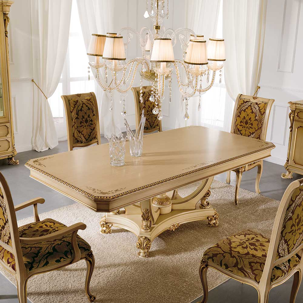 Обеденный стол вместе с пьедестал 1