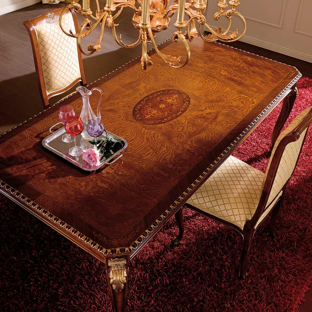 Tavolo rettangolare allungabile 2