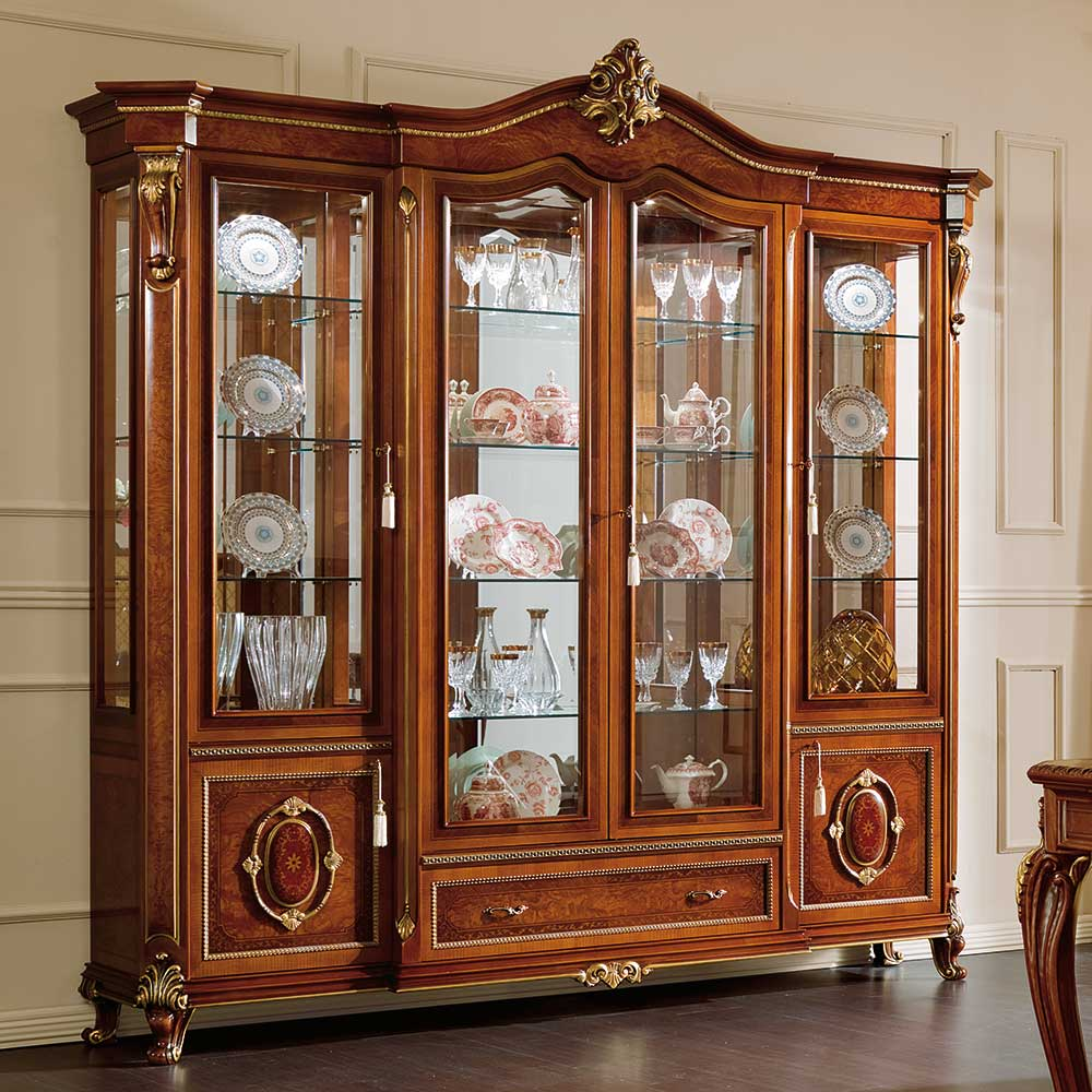 Display cabinet 4 doors 1