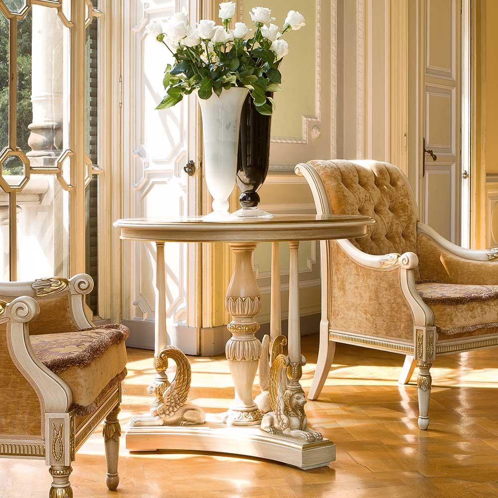 Round tea table 1
