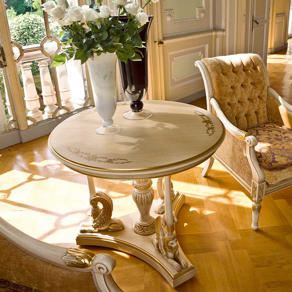 Round tea table 2