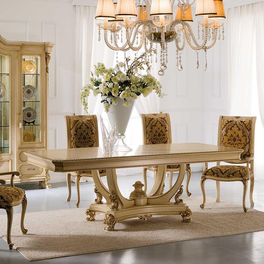 Обеденный стол вместе с пьедестал 2