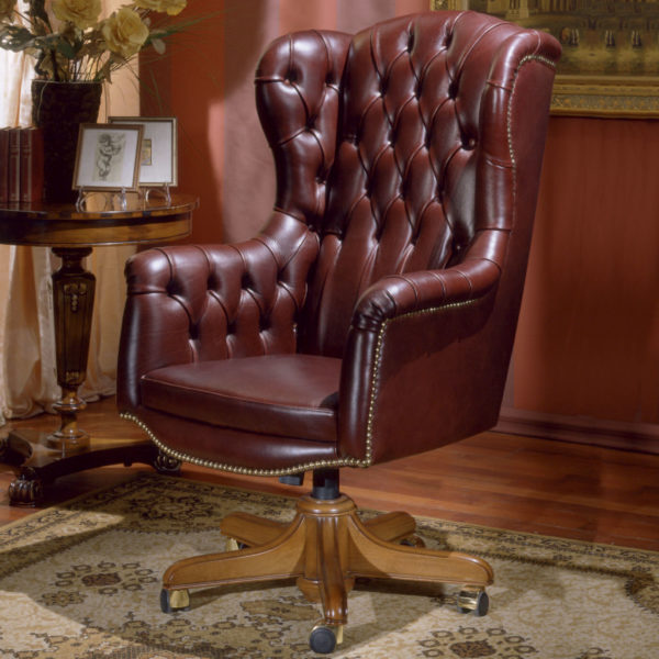 Leather-office-armchair-president